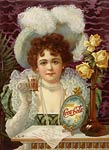 Drink Coca-Cola 5 cents 1890's Advertising Poster