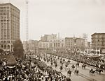 Mounted Maccabees Detroit Michigan 1901