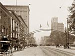 Columbus Ohio, High St. north from State 1900's