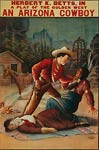 Cowboy strangling an Indian - theatrical poster