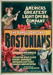 Bostonians America's greatest light opera company Poster