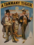 A Tammany tiger a melodrama of New York life Theatre Poster