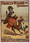 The Little Corporal Napoleon I on camel Poster