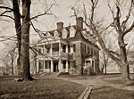 Shirley Plantation House, James River, Charles City County