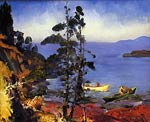 Evening Blue by George Bellows