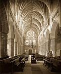 Exeter Cathedral Interior victorian era