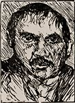 Lovis Corinth artist self-portrait