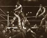 Jack Dempsey and Luis Firpo by George Bellows