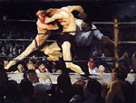 Stag Night at Sharkey's by George Bellows