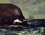 Beating out to Sea by George Bellows