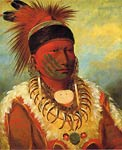 The White Cloud, Head Chief of the Iowas George Catlin