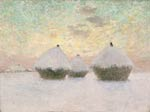 Haystacks in the Snow Emile Claus