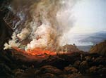 Outbreak of the Vesuvius Johan Christian Dahl