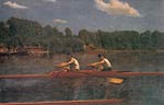 The biglin brothers racing Thomas Eakins