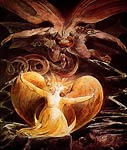 The Great Red Dragon and the Woman Clothed in the Sun William Bl