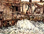 Old mill Egon Schiele