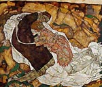 Death and the Maiden Egon Schiele