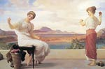 Winding the Skein Frederic Leighton