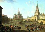 Red Square in Moscow Fedor Alekseev