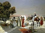 Reception at Compiegne in 1810 Francois Flameng