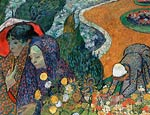 Memory of the Garden at Etten (Ladies of Arles) Vincent van Gogh