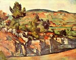 French Provence Paul Cezanne