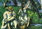 Fruit picker Paul Cezanne
