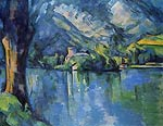 lake of Annecy Paul Cezanne