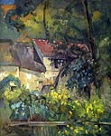 The house of Pere Lacroix Paul Cezanne