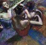 The dancers Edgar Degas