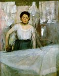 Woman Ironing Edgar Degas