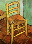 Vincent s Chair with His Pipe 1888 Vincent Van Gogh
