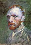 Self-Portrait 1887 Van Gogh