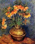 Fritillaries in a Copper Vase 1887 Vincent Van Gogh