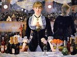 A Bar at the Folies-Bergere Eduard Manet