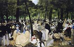 The Concert in the Tuilerien Eduard Manet