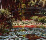 The Bridge over the Water-Lily Pond Monet