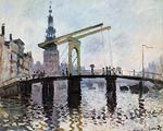 The Bridge, Amsterdam Claude Monet