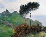 The Church at Varengaville, Grey Weather Monet