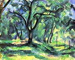 small forest Paul Cezanne