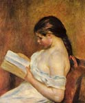 Young Girl Reading Pierre-Auguste Renoir