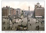 Sackville Street and O'Connell Bridge. Dublin. Co. Dublin, Irela
