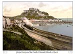 Jersey, Gorey and the Castle, Channel Island, England