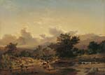 Landscape with Drove of Cows 1859
