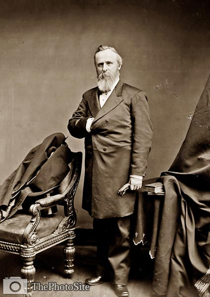 Rutherford Birchard Hayes 19th President of the USA - Click Image to Close