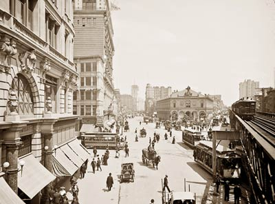 Herald Square New York City 1904