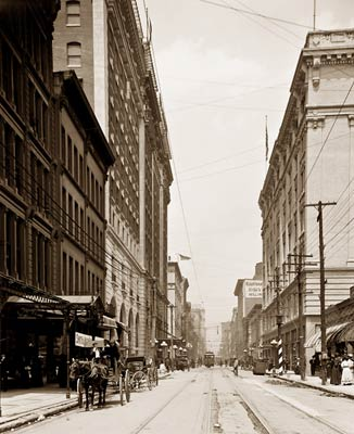 Fourth St., Louisville, Kentucky 1900's
