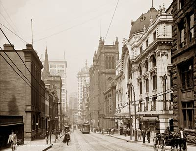 Sixth Ave Pittsburgh Pennsylvania 1908