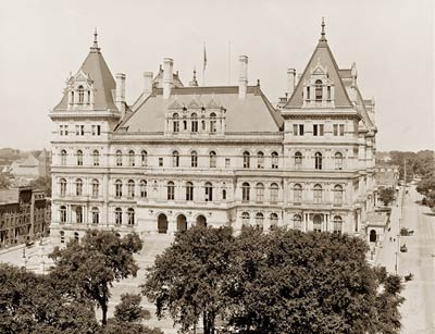 State Capitol, Albany, New York early 1900's