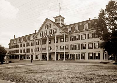 The Sinclair Hotel, Bethlehem, White Mountain New Hampshire